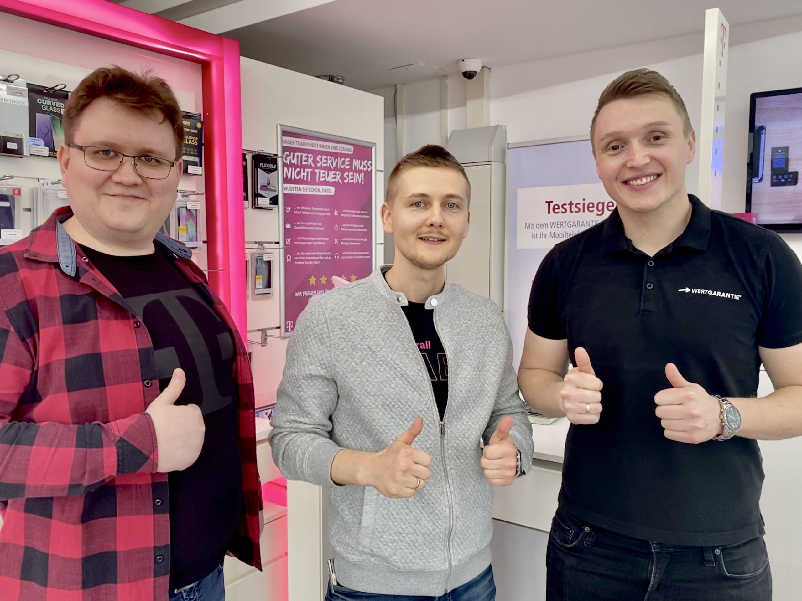 Eugen Strauss, Telekom Traunreut Vodafone o2 congstar 1und1 shop