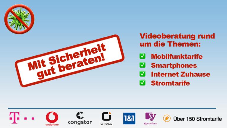 Corona Traunreut Service smartphone Telekom Vodafone Shop 1und1