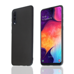 Samsung Galaxy A41 Silicon Case Schwarz