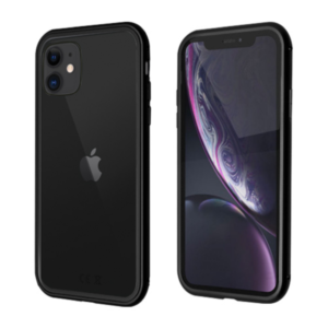 iPhone 11 Armor-Alu-Case schwarz