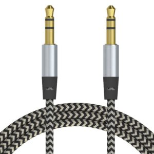 AUX-Kabel 3,5mm 1m Nylon