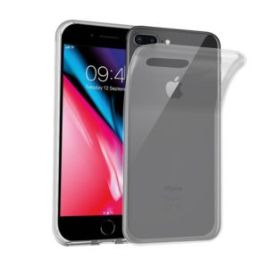 "iPhone 7/8 Plus Silicon Case Transparent ""The Ocean Cleanup"""
