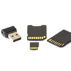 Speicherkarten / USB-Sticks